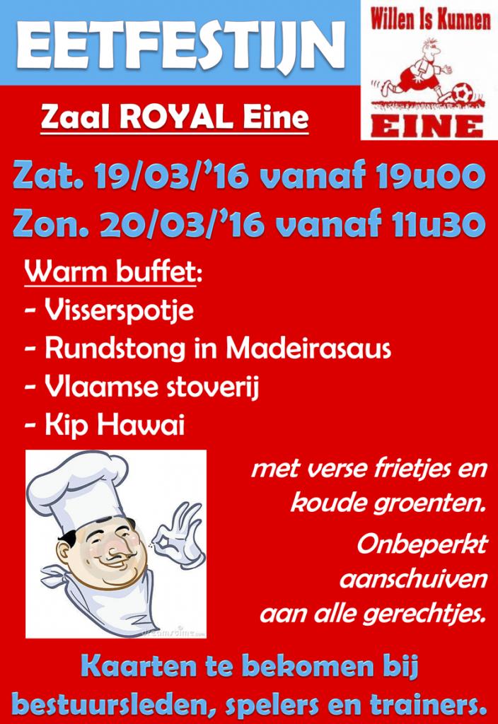 Eetfestijn Maart 2016