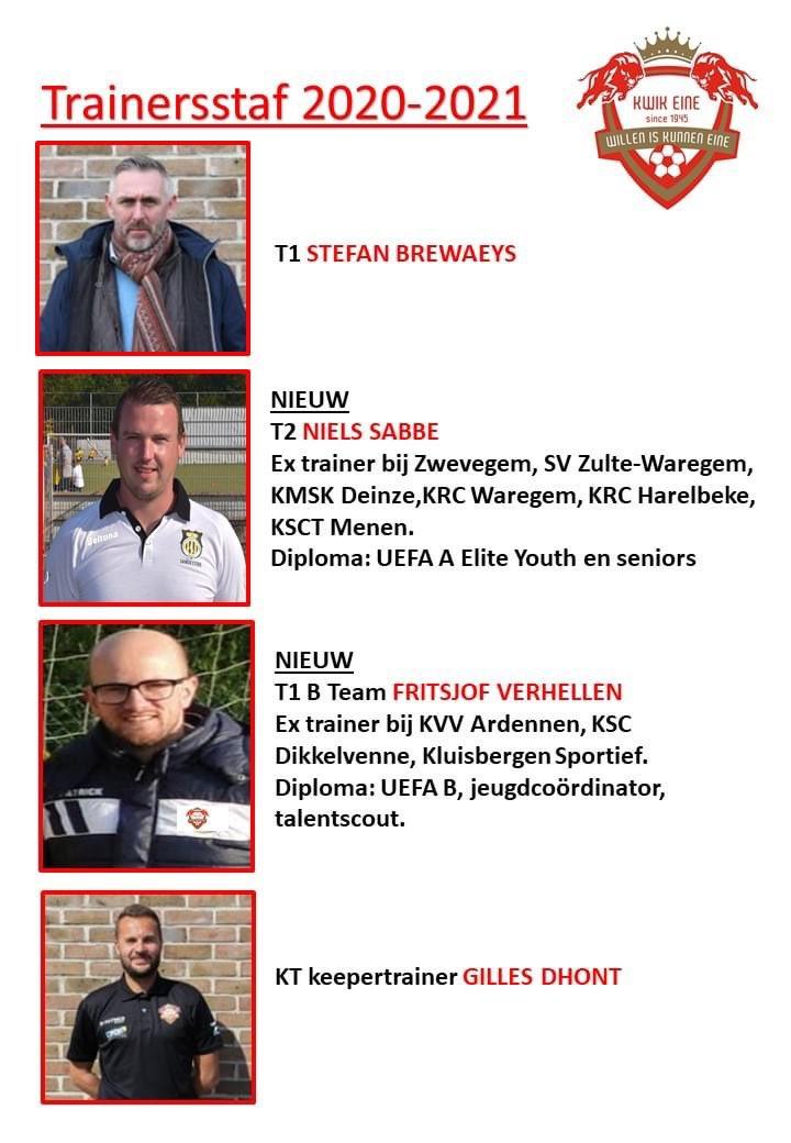 Trainersstaf2020-2021