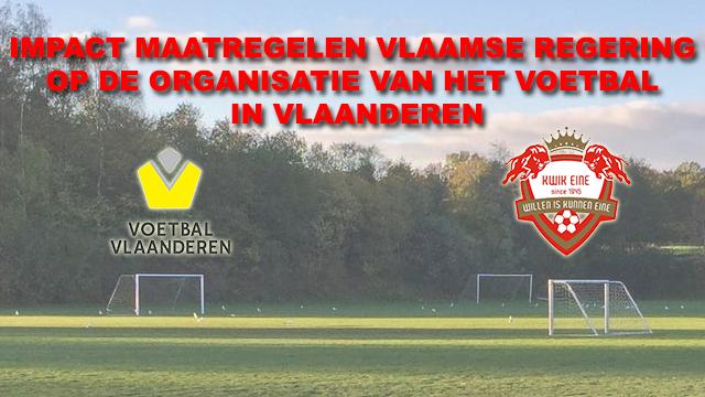 Voetbal Vlaanderen – update competitie 02/11/'20