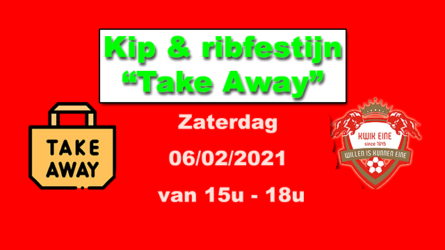 """Take away"" kip & ribfestijn!"
