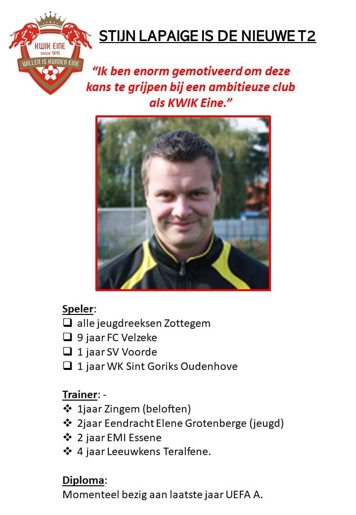 T2 Stijn Lapaige