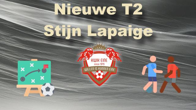 Nieuwe T2: Stijn Lapaige