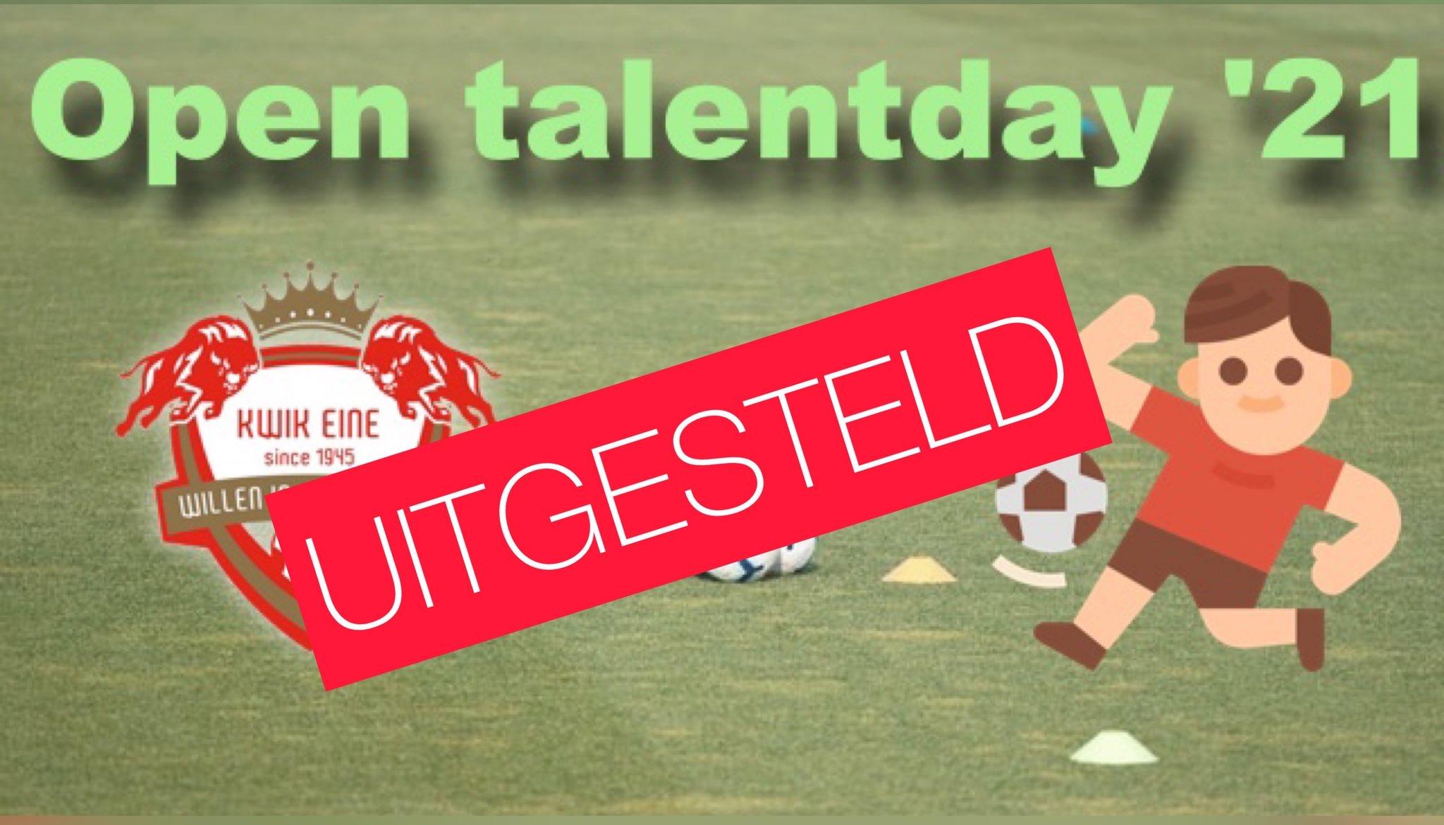 Open talentday '21 (uitgesteld)