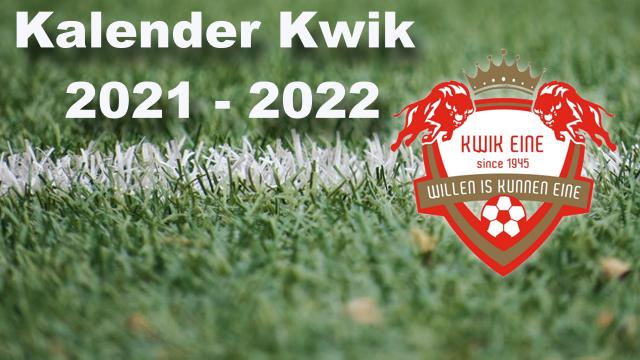 Kalender Kwik 2021-2022