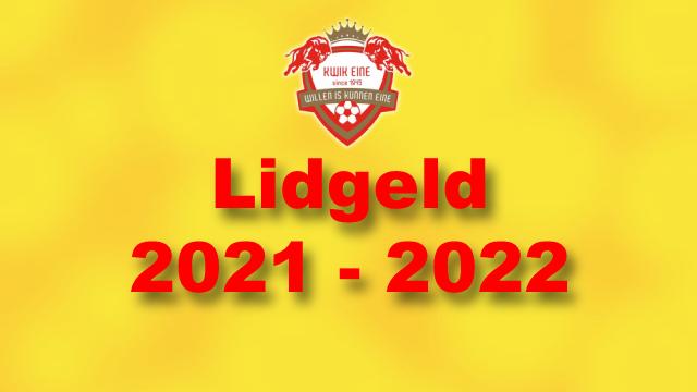 Lidgeld 2021-2022