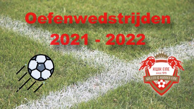 Oefenwedstrijden 2021-22