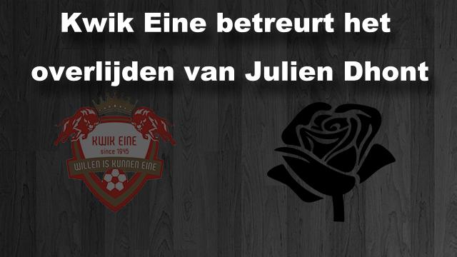 Overlijden Julien Dhont